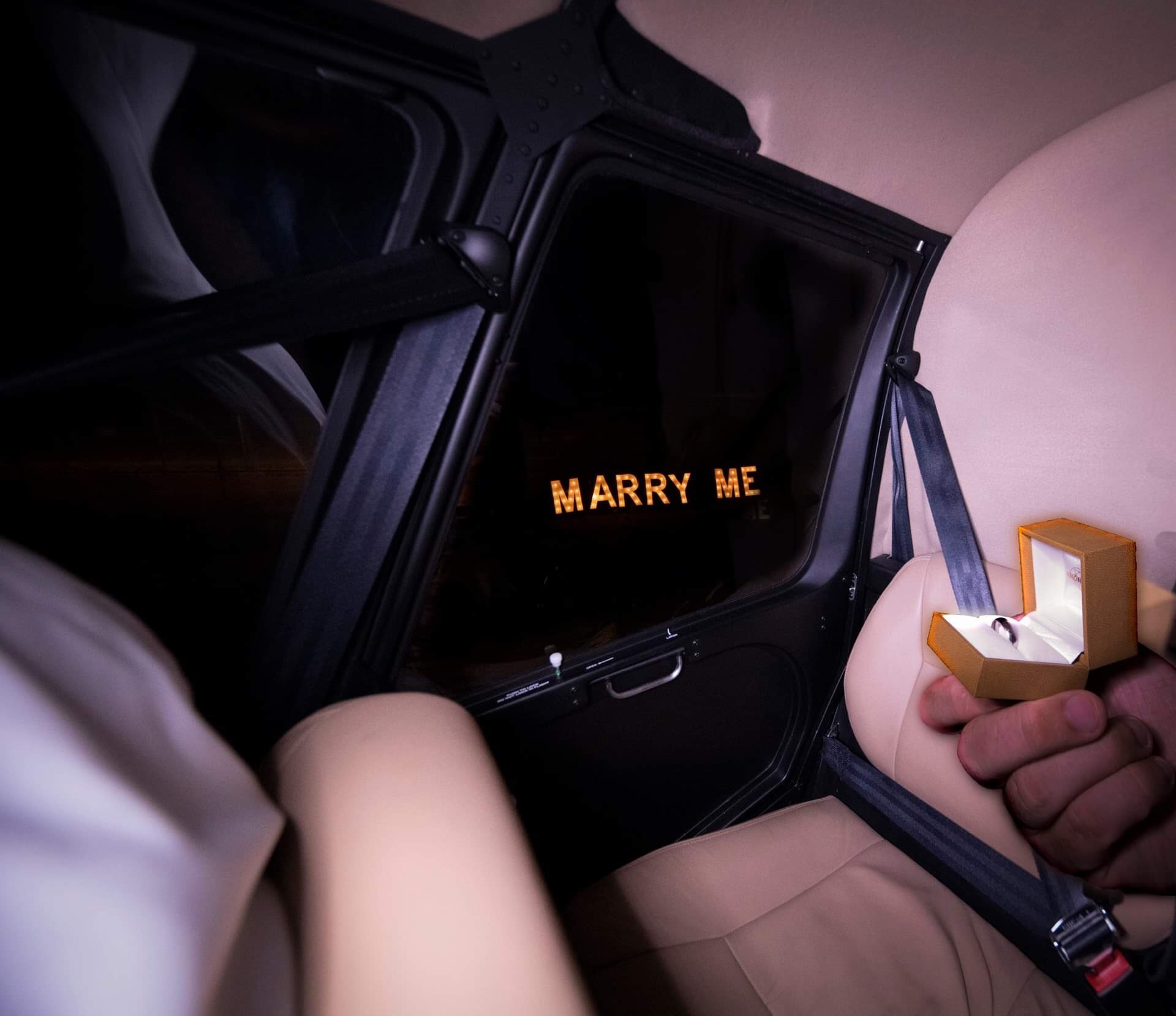 Couples In Air Proposal