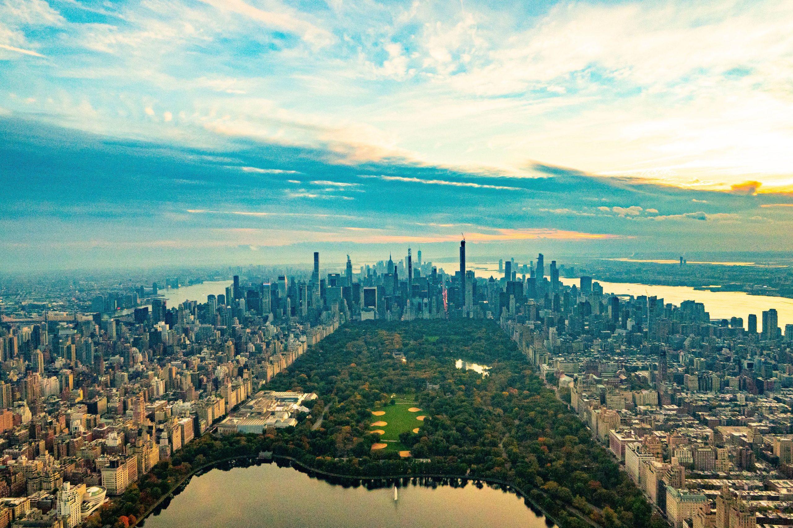 Central Park birds eye view