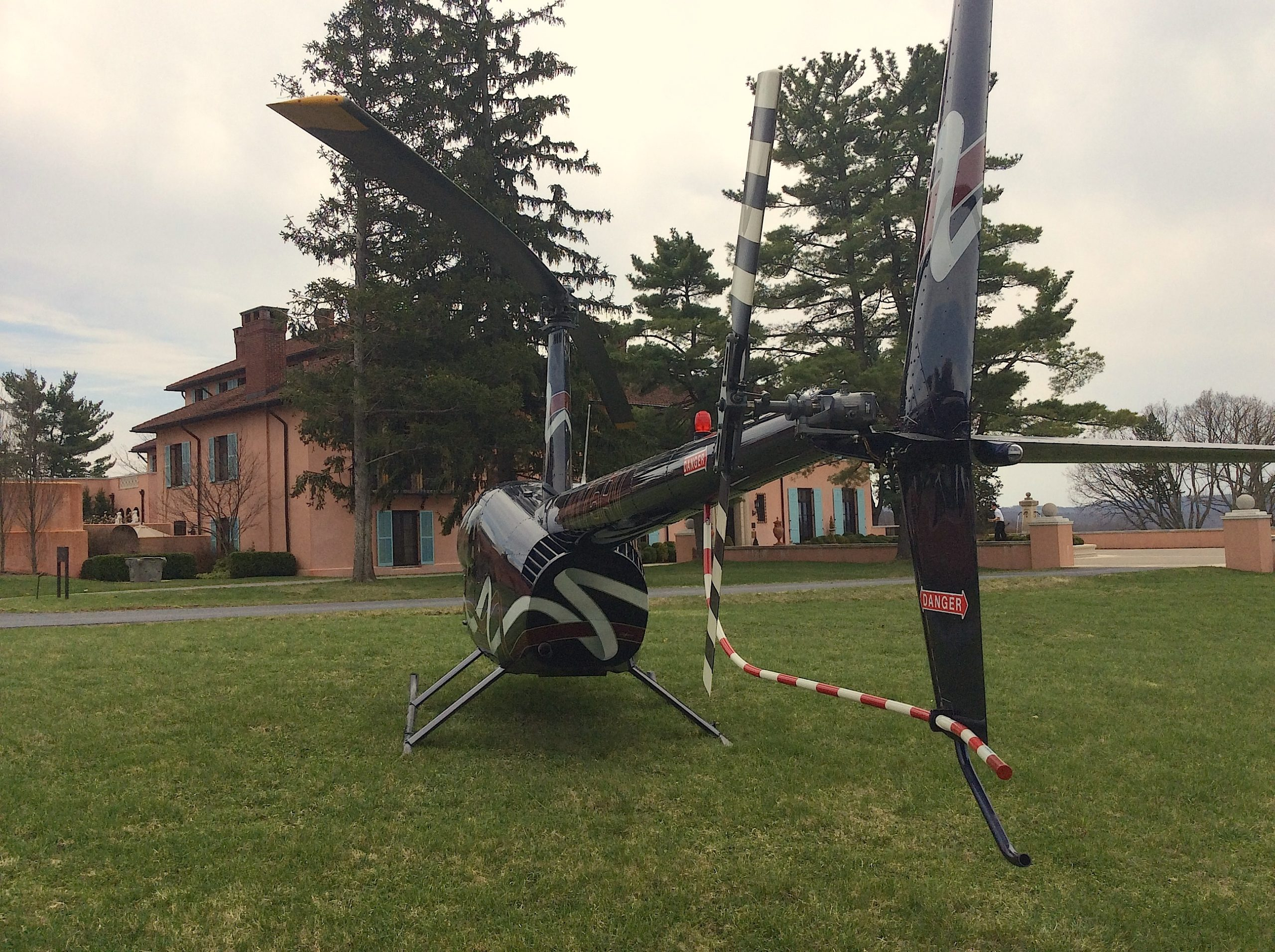 glenmere mansion helicopter