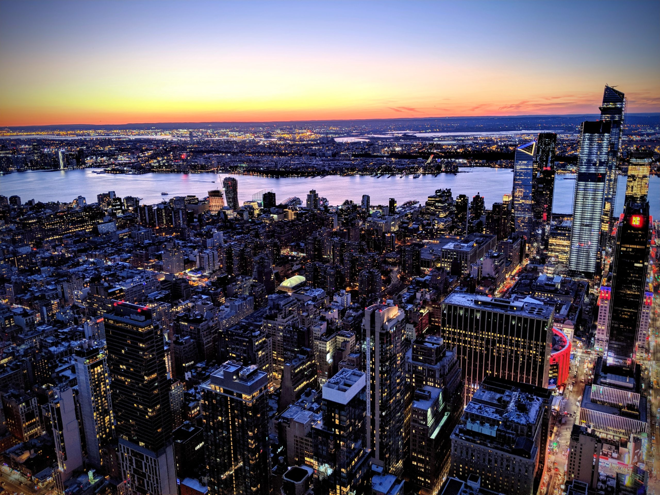 See New York at Night - Private Aerial Photography Tour
