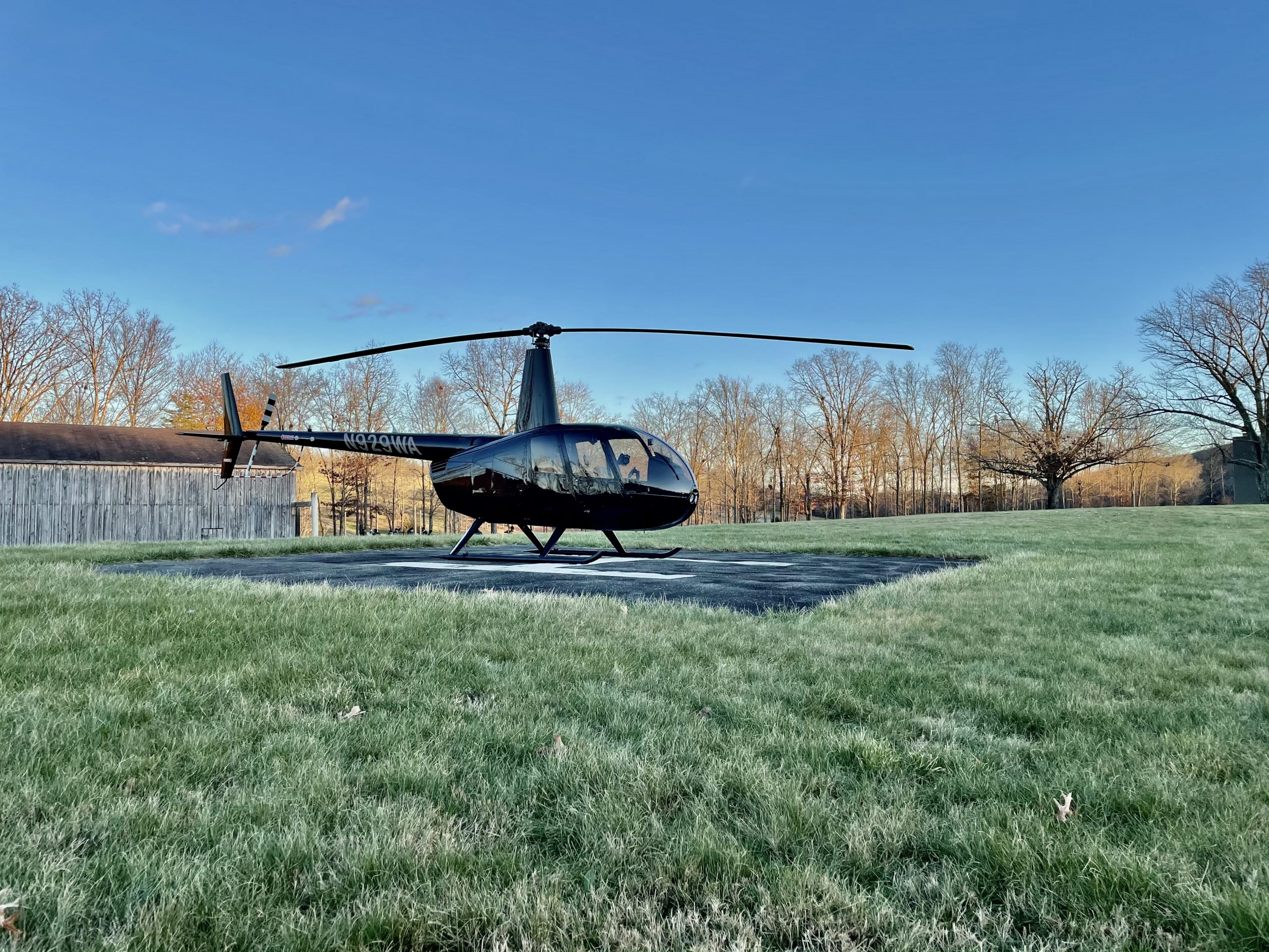 R44 helicopter proposal